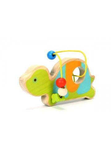Labirints Bruņurupucis - Attīstošās koka rotaļlieta Lucy&Leo Lucy&Leo - 1