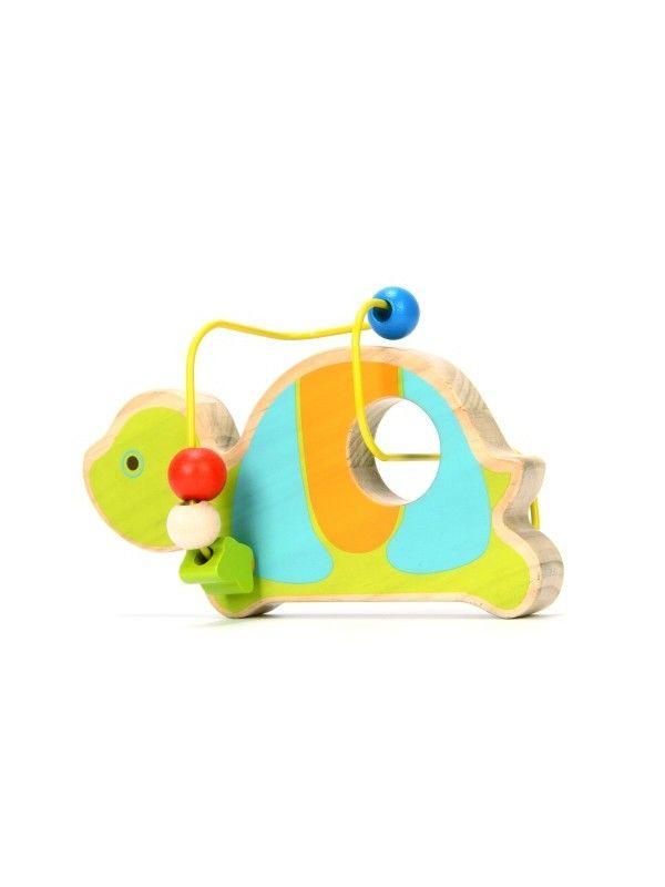 Лабиринт Черепаха - обучающие деревянные игрушки Lucy&Leo Lucy&Leo - 4