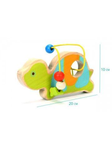 Лабиринт Черепаха - обучающие деревянные игрушки Lucy&Leo Lucy&Leo - 2