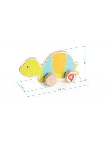 Velkamā rotaļlieta Bruņurupucis - Attīstošās koka rotaļlieta Lucy&Leo Lucy&Leo - 2