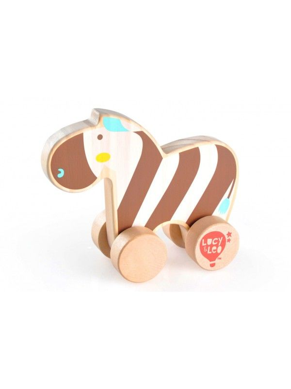 Rolling Zebra - educational wood toys Lucy&Leo Lucy&Leo - 1