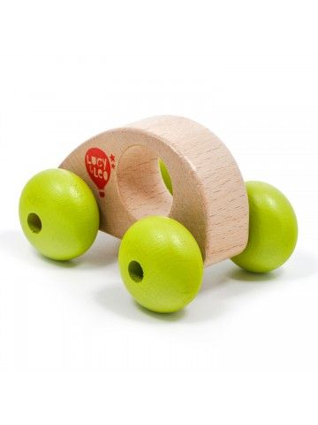 Roly-Poly mini car wooden toy Lucy&Leo - 3