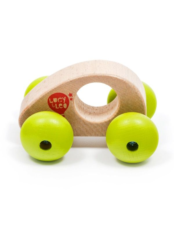 Roly-Poly mini car wooden toy Lucy&Leo - 4