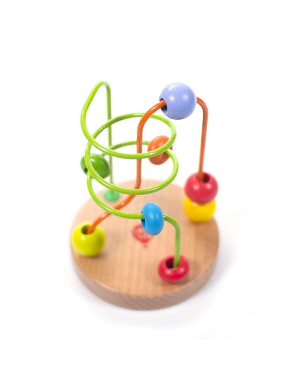 Bead Labyrinth Nr.1 Wooden Toy Lucy&Leo Lucy&Leo - 4
