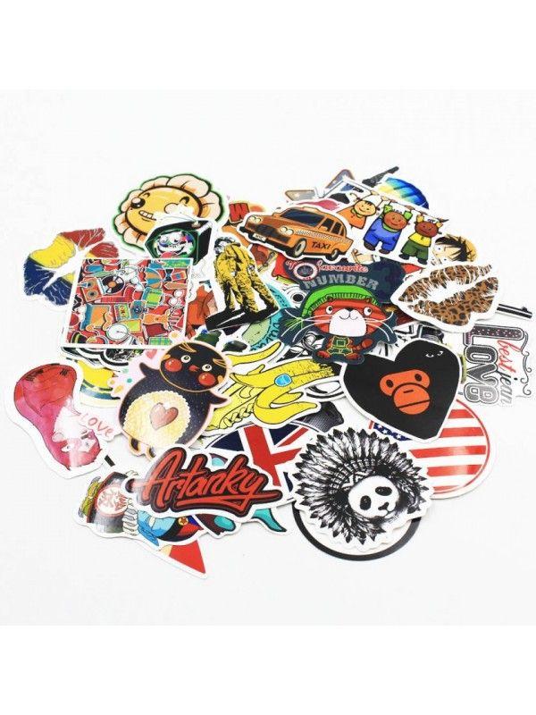 Stickers set (10 pcs) OstOrg - 1