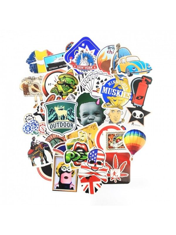 Stickers set (10 pcs) OstOrg - 4