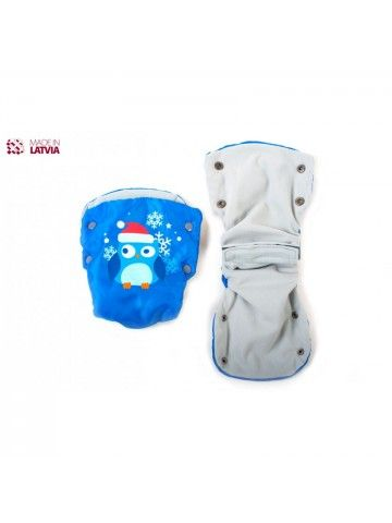 Муфта, перчатки для колясок и санок M-Glo Owl OstOrg - 2