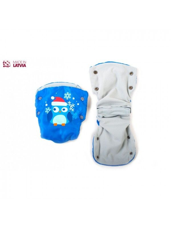 Muffs, gloves for strollers and sleds M-Glo Owl OstOrg - 2