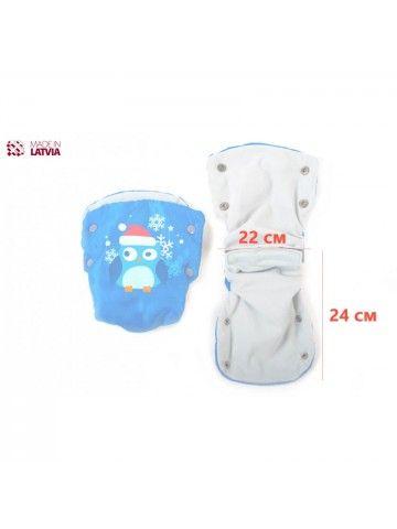Муфта, перчатки для колясок и санок M-Glo Owl OstOrg - 3