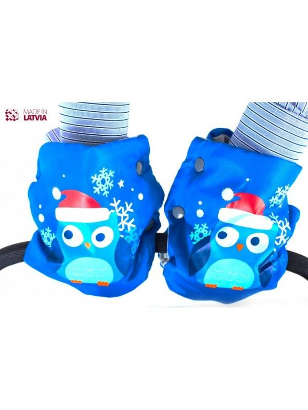 Muffs, gloves for strollers and sleds M-Glo Owl OstOrg - 4
