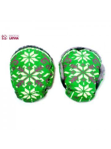 Муфта/Перчатки для колясок и санок Nord Green OstOrg - 1